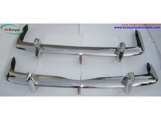 VW Type 34 bumper by stainless steel