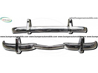 Mercedes W186 300 bumper by stainless steel