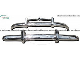 Volvo PV 444 bumper by stainless steel