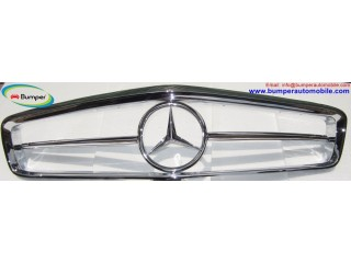 Mercedes W113 Grill by stainless steel