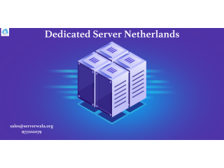 Dedicated Server Netherlands | Dedicated Server Hosting Netherlands