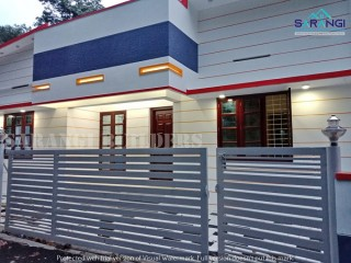 3 BHk New Budget House For Sale In Trivandrum Peyad Kollamkonam
