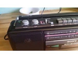 Sony Cassette Player (japan)